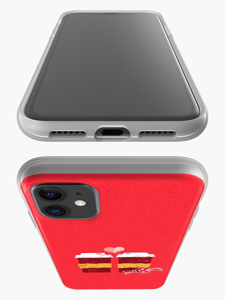 Alternate view of Coffee for Two iPhone Case & Cover