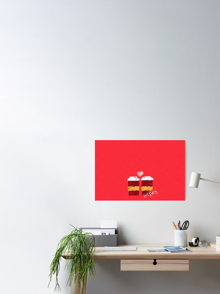 Alternate view of Coffee for Two Poster