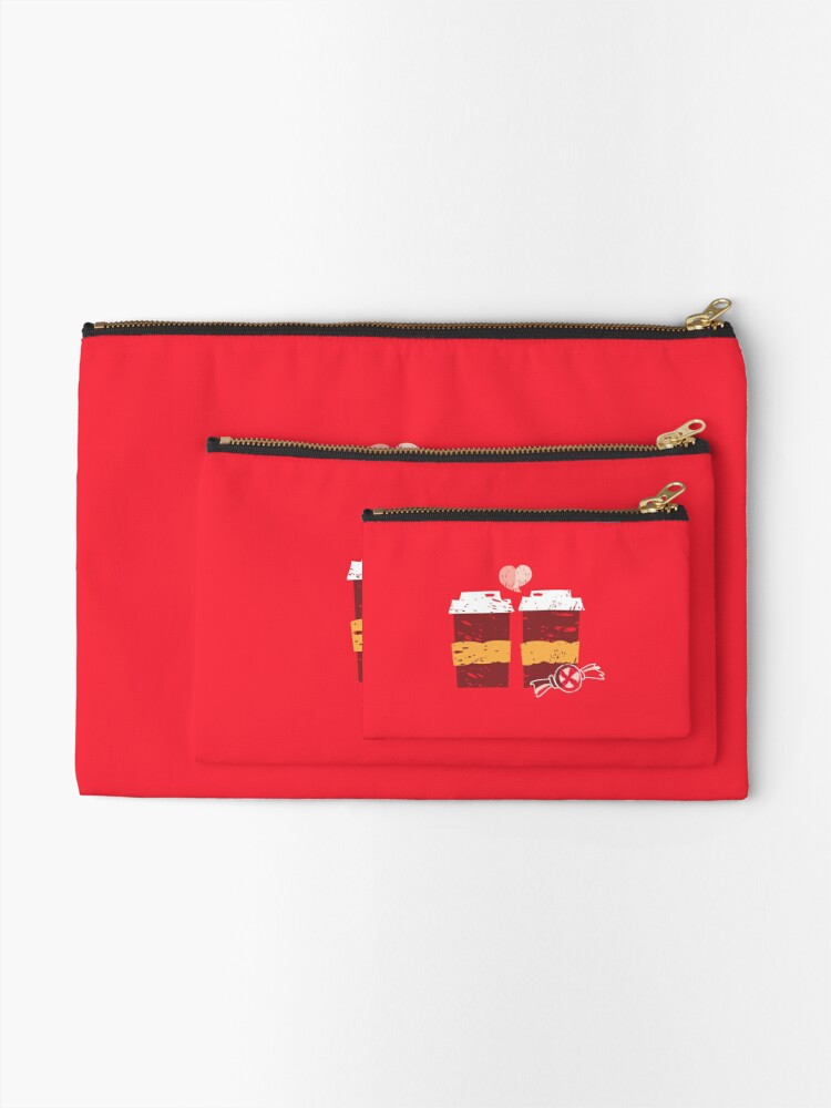 Alternate view of Coffee for Two Zipper Pouch