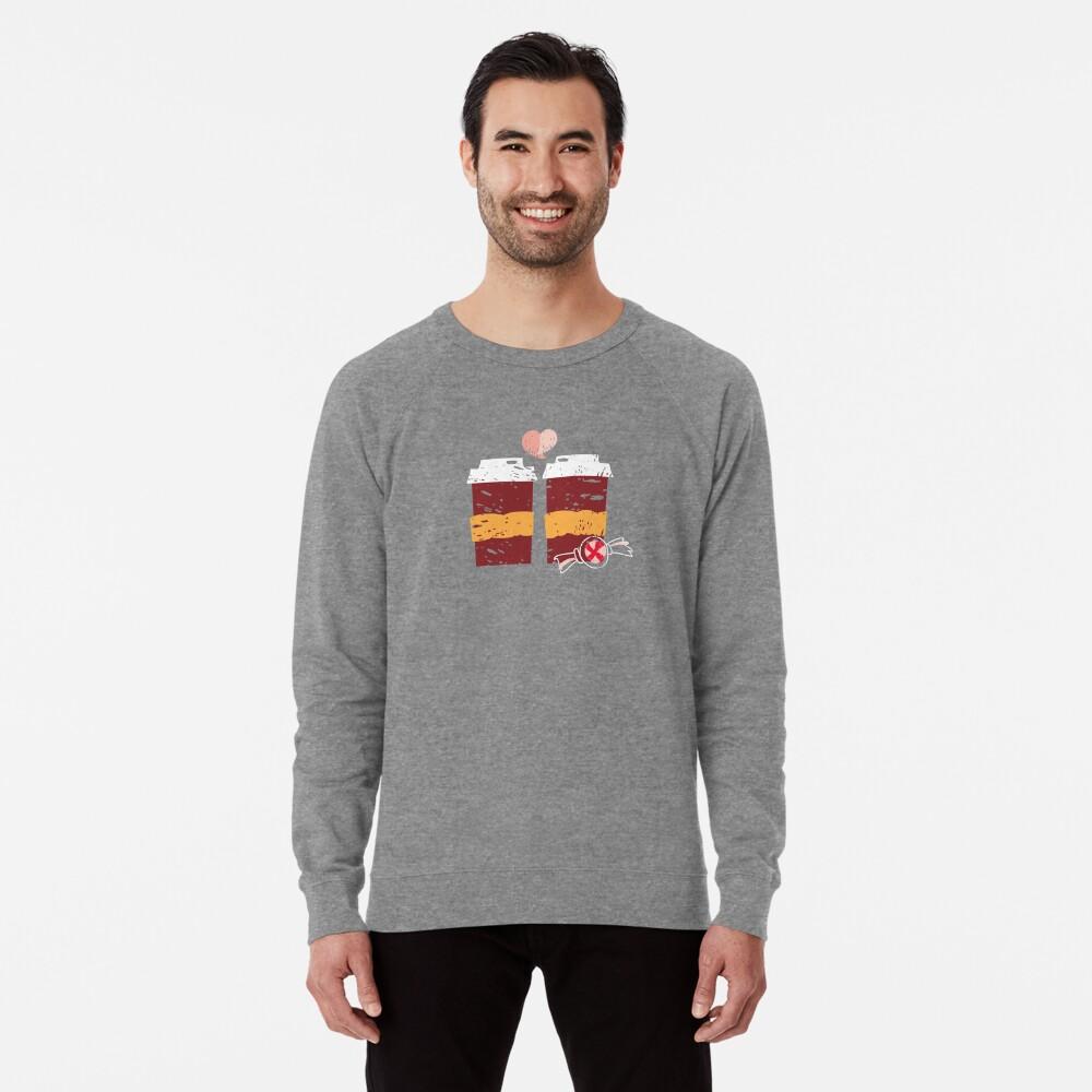 Coffee for Two Lightweight Sweatshirt