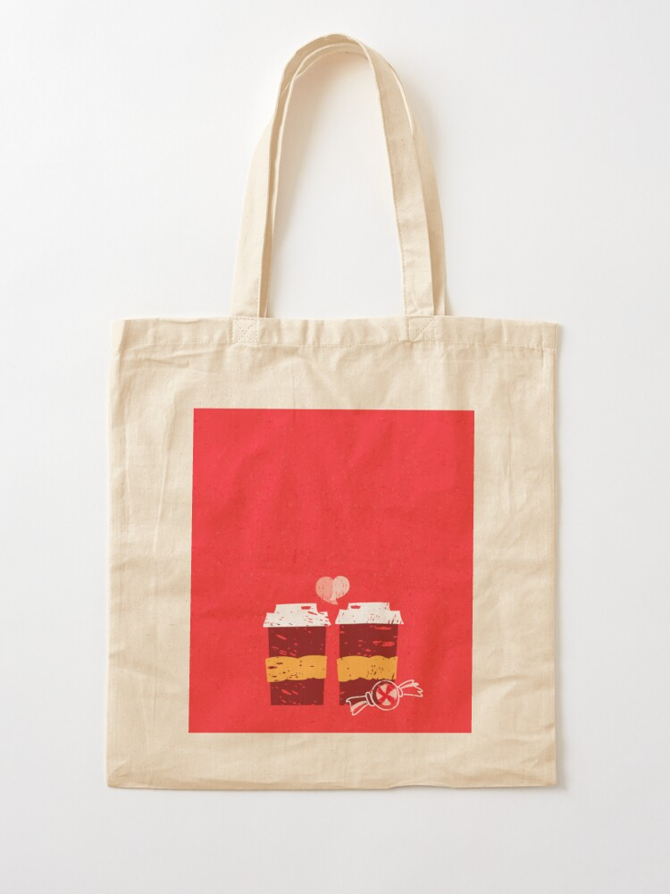 Alternate view of Coffee for Two Tote Bag