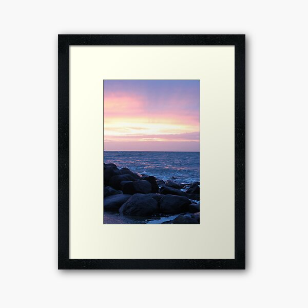 Dreaming of love Framed Art Print