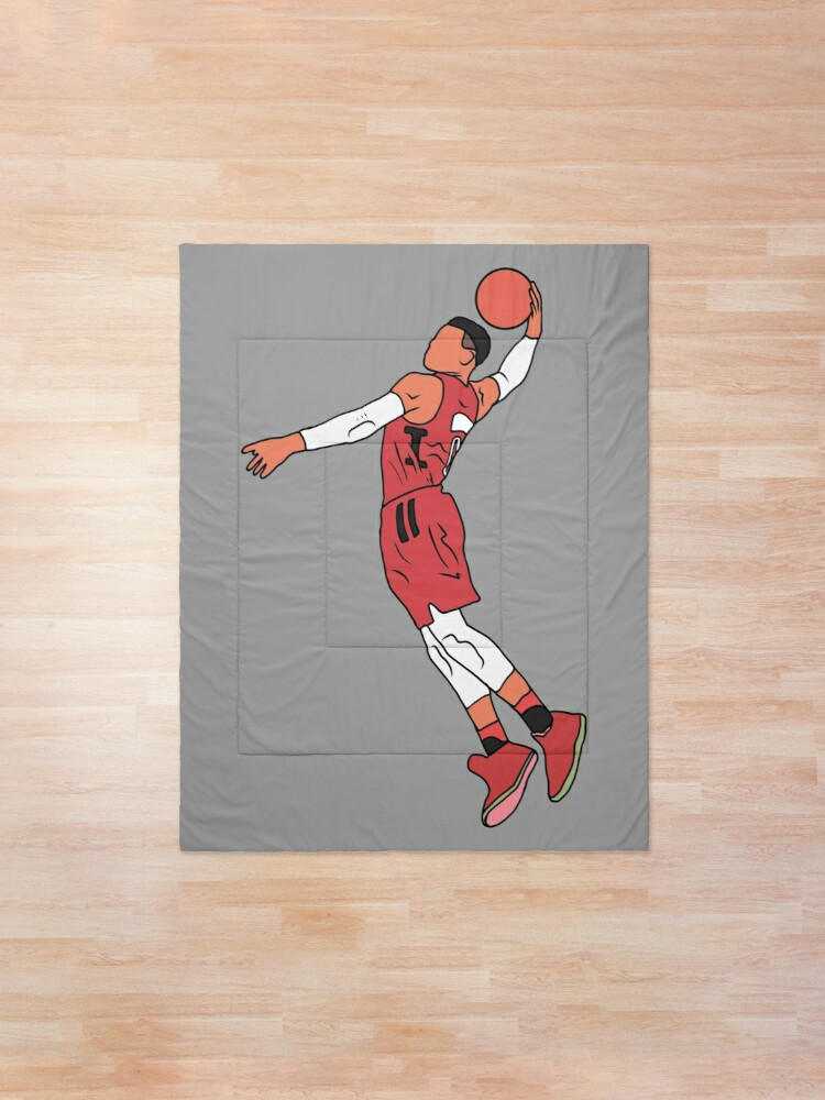 Alternate view of Russell Westbrook Rockets Dunk Comforter