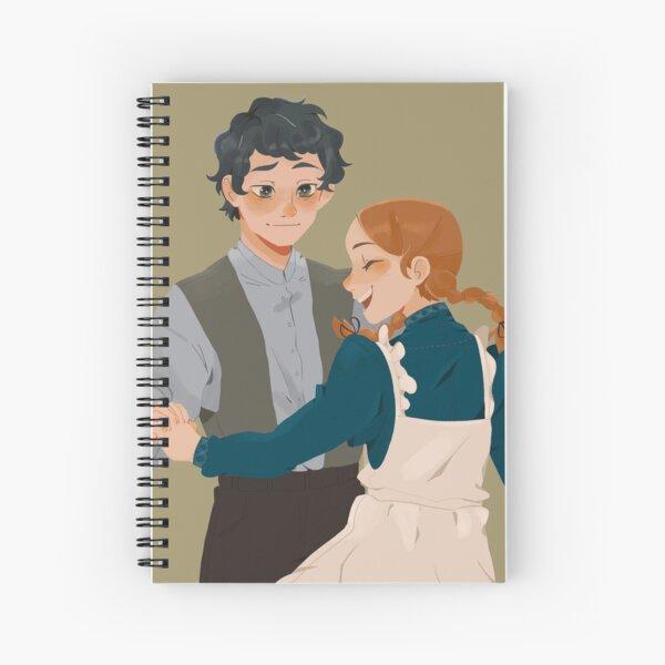 Anne with an E - Shirbert Dance Spiral Notebook