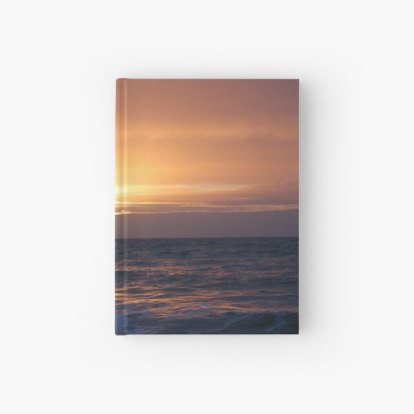 Rough sea and bloodlust sun Hardcover Journal