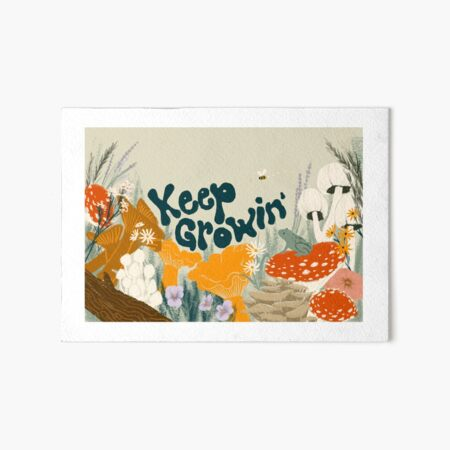 Keep Growin Art Board Print