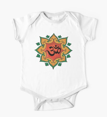 """Om"" India, Hindu, Hinduism T-Shirt Kids Clothes"