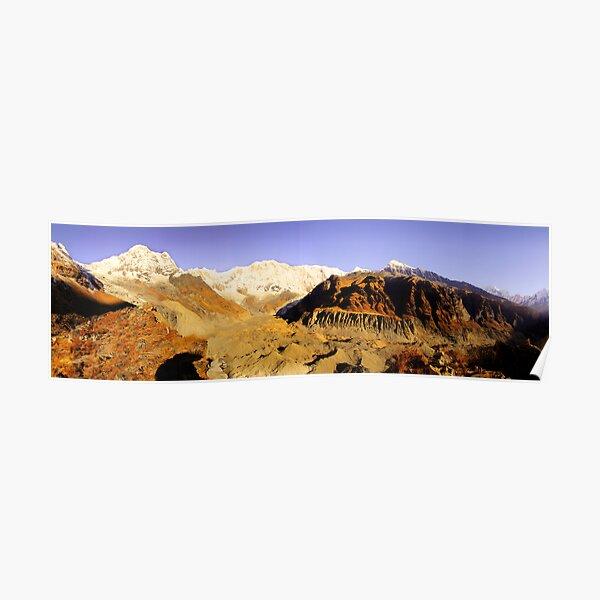 Annapurna Sanctuary, Himalaya, Nepal. Poster