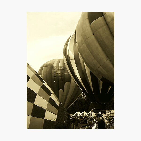 Parade of Balloons Photographic Print