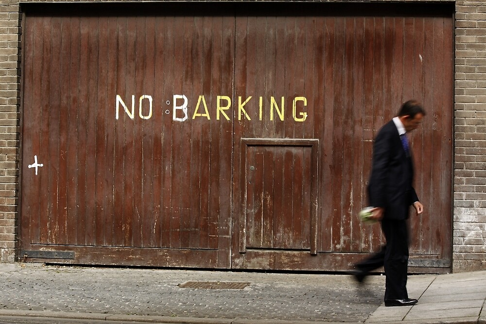 No Barking by Esther  Moliné