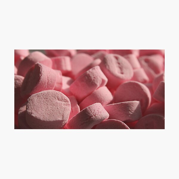 If These Are Wintergreen Mints, Why Are They Pink? Photographic Print