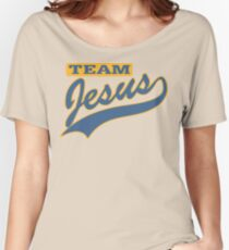"Christian ""Team Jesus"" Women's Relaxed Fit T-Shirt"