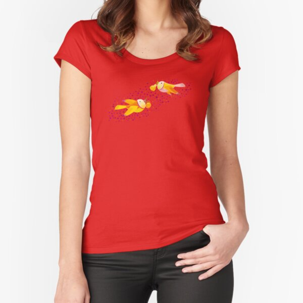 Autumn Love Fitted Scoop T-Shirt