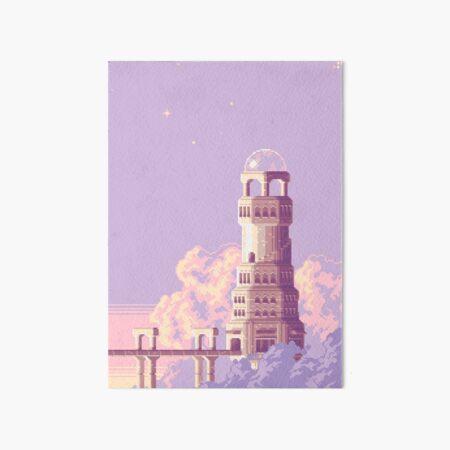 Euphoria Tower Art Board Print