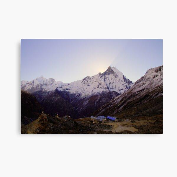 Annapurna Base Camp, Nepal. Canvas Print