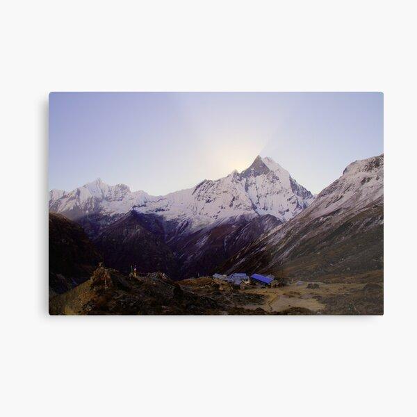 Annapurna Base Camp, Nepal. Metal Print