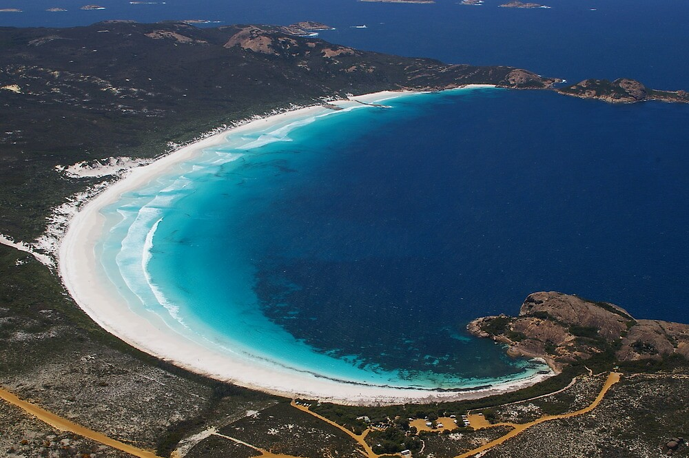 """Lucky Bay ~ Cape Le Grand National Park, Esperance"""" by Sonya Hennessy 