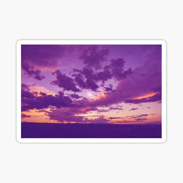 open sky Sticker