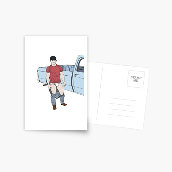 Truckin' Postcard