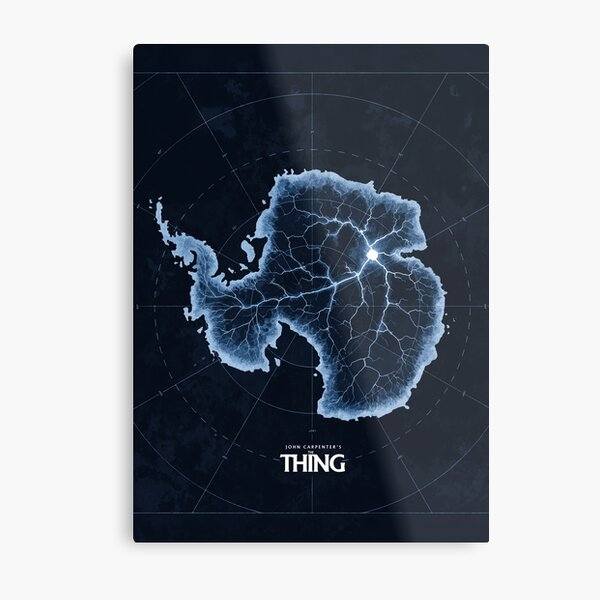 The Thing - Antarctica Metal Print