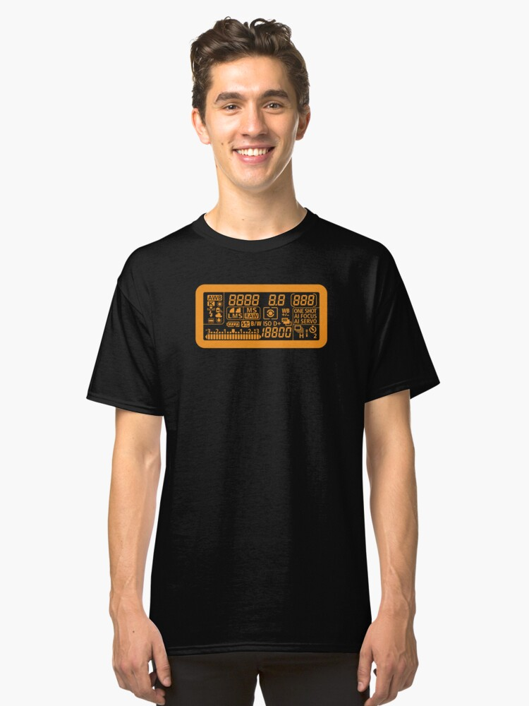 Canon Camera LCD panel Classic T-Shirt Front