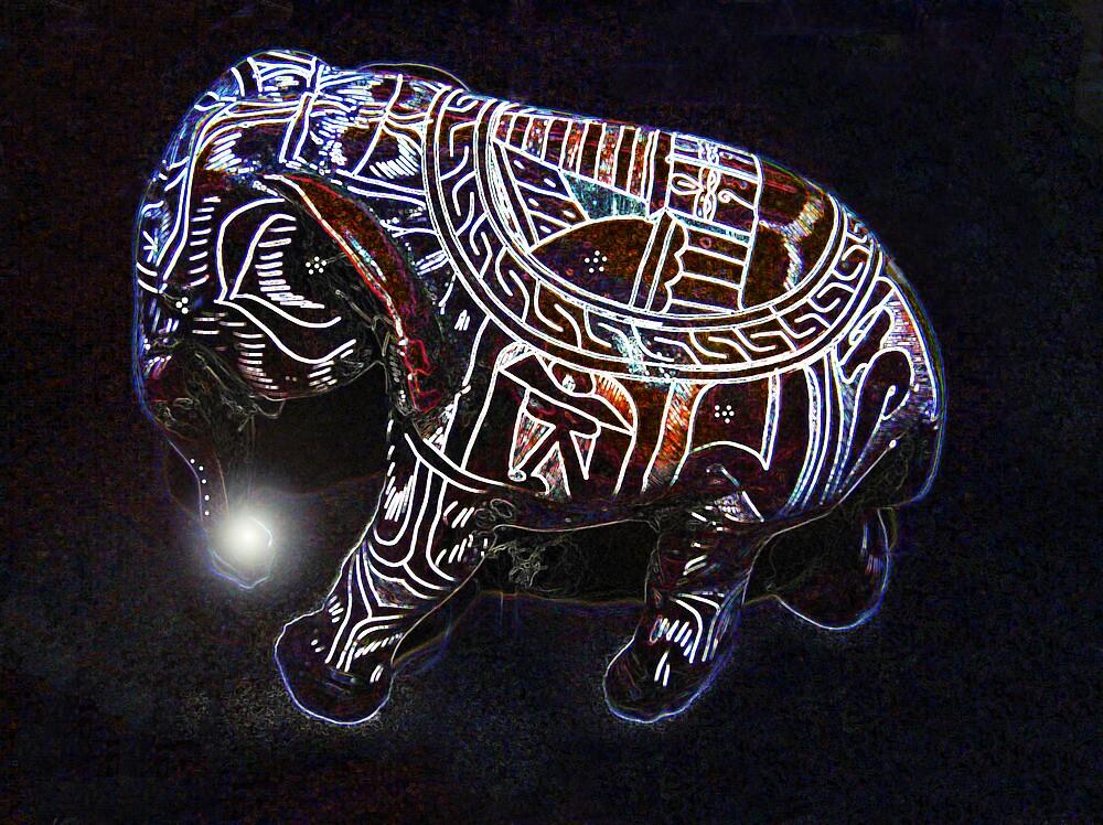 Guradian Elephant  by didi24