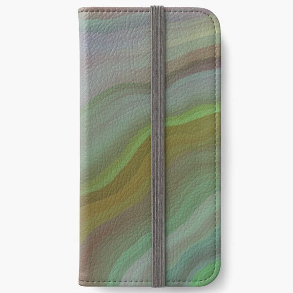 Cadet Blue Tunnel iPhone Wallet