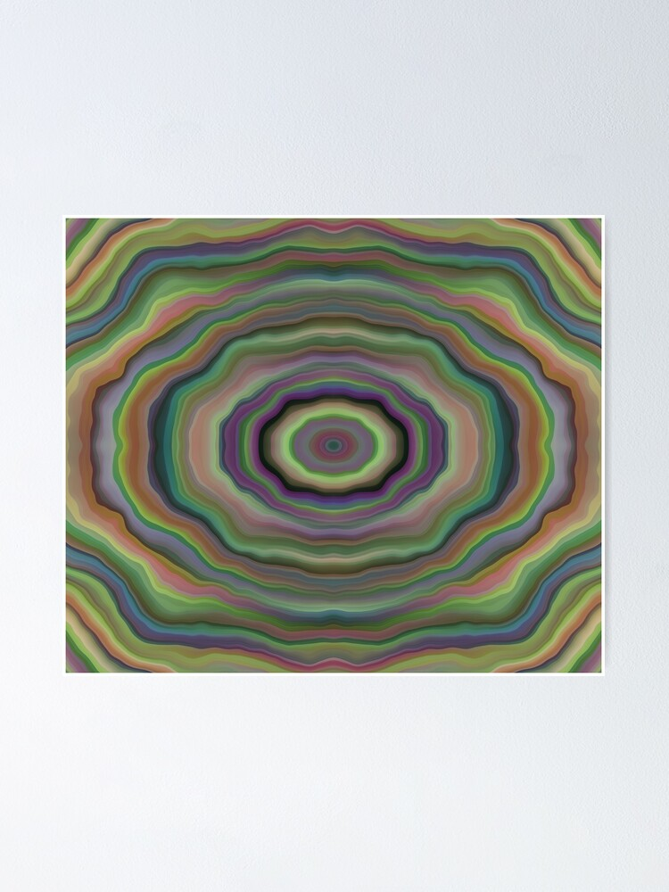 Alternate view of Colorful Tunnel Poster