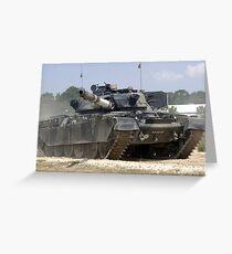 Chieftain Tank  Greeting Card