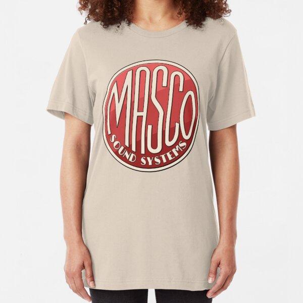Vintage Masco Logo Slim Fit T-Shirt