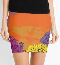 Autumn Flowers Mini Skirt