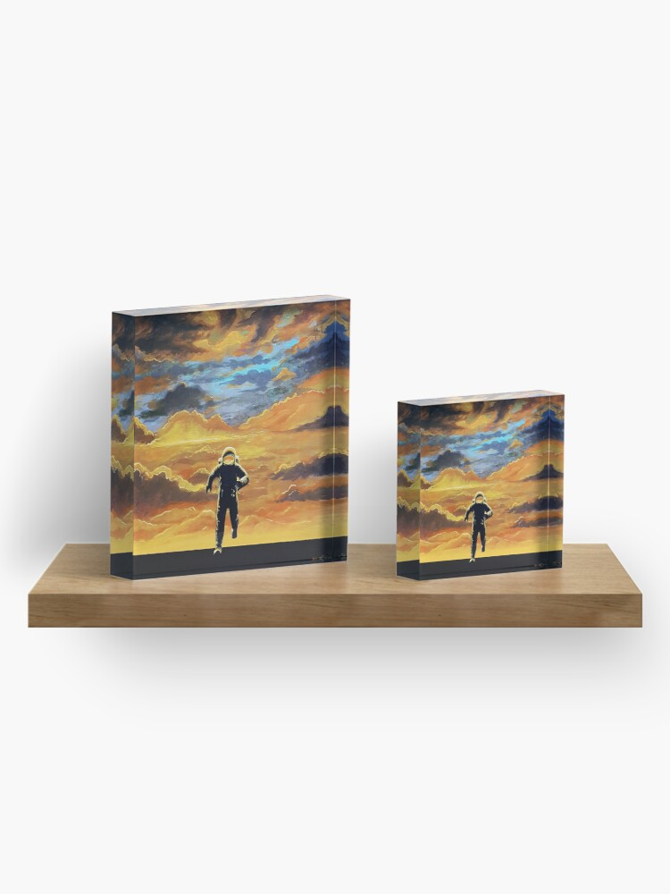 Alternate view of Perseverance Acrylic Block