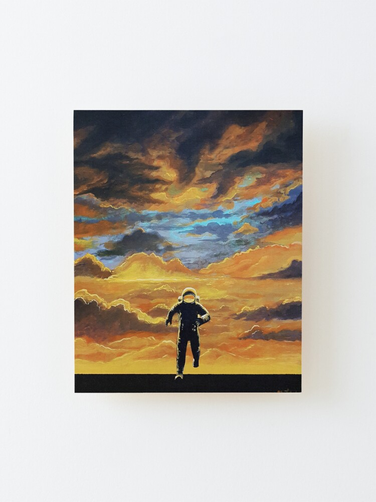 Alternate view of Perseverance Mounted Print