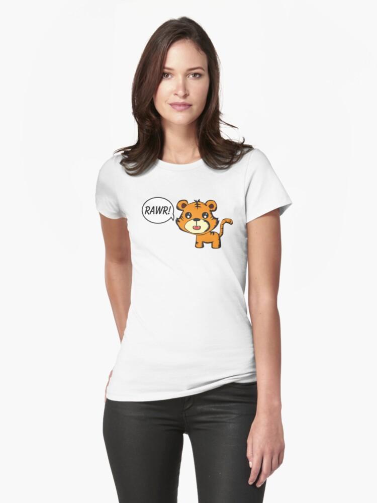 RAWR! Tiger by Sean Cuddy