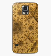 Sandy dodecahedral gasket Case/Skin for Samsung Galaxy