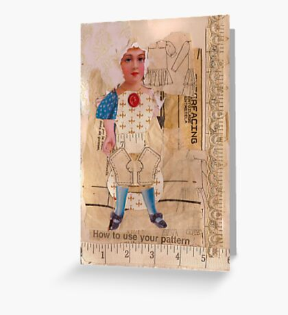Anatomy of a doll 4 Greeting Card