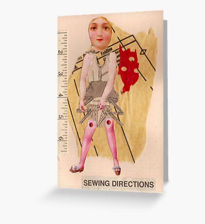 Anatomy of a doll 10 Greeting Card