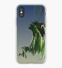 Grassy spiral iPhone Case