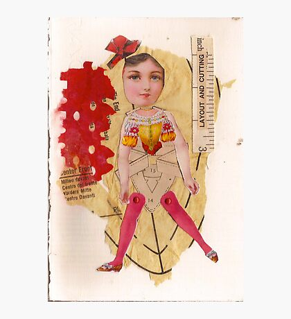 Anatomy of a doll 11 Photographic Print