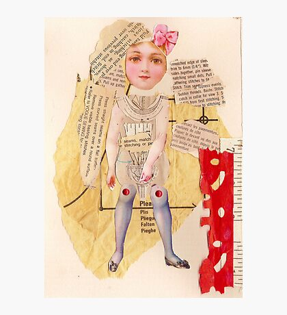 Anatomy of a doll 13 Photographic Print