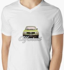 Lime Alfasud Men's V-Neck T-Shirt
