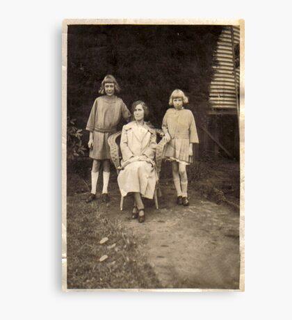 Grand Aunt Lilian Canvas Print