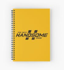 Borderlands | The Next Handsome Jack (Black) Spiral Notebook