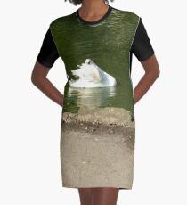 Merch #45 -- Swan - Shot 3 Graphic T-Shirt Dress