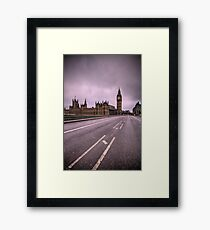 Desolate London Framed Print