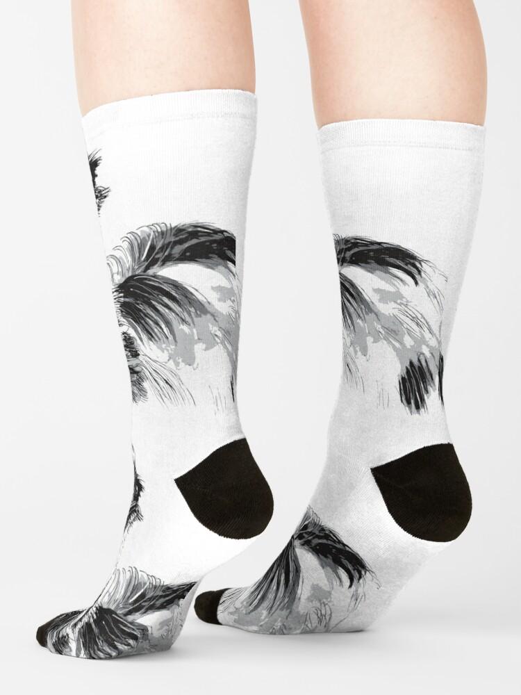 Alternate view of Emu Black and White Socks