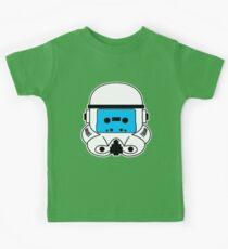 Cassette Trooper - Blue Kids Tee