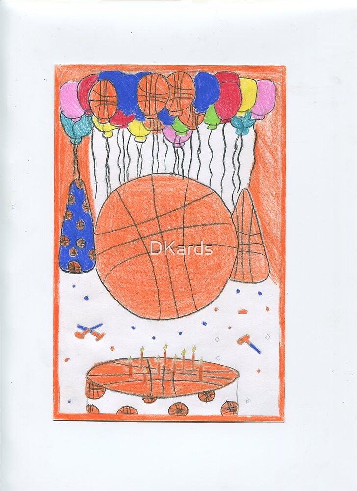 Birthday Basketball by DKards