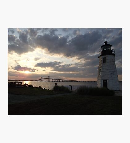 Goat Island Light Photographic Print