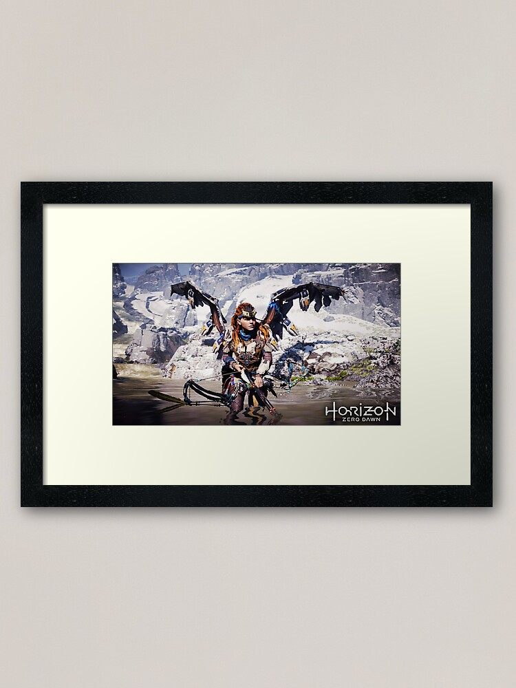 Hzd Aloy The Hunter Angel Framed Art Print By Candycatx3 Redbubble